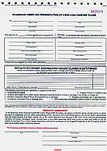ATA Form for Loss and Damage Claims