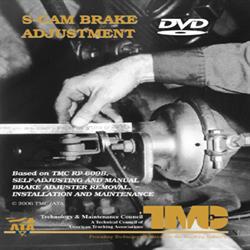 S-Cam Brake Adjustment Video - DVD